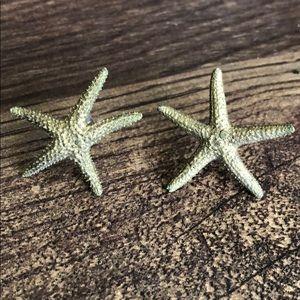Jewelry - Real starfish stud earrings